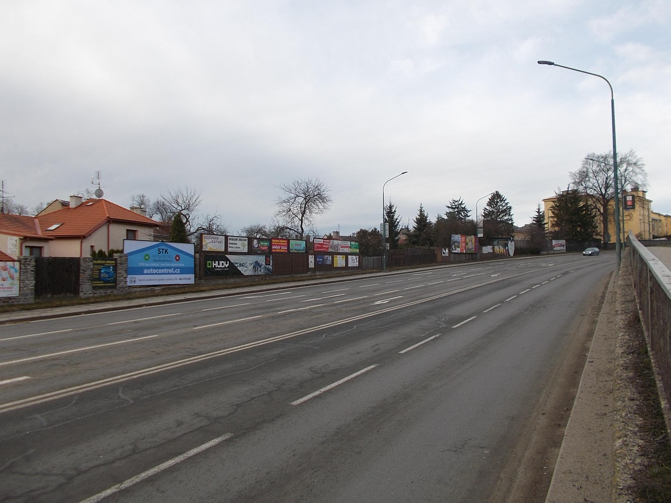 billboard v Jihlavě